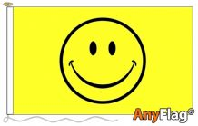 SMILEY FACE ANYFLAG RANGE - VARIOUS SIZES